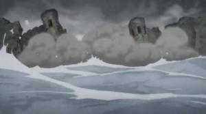 アクアの魔法で街を破壊
