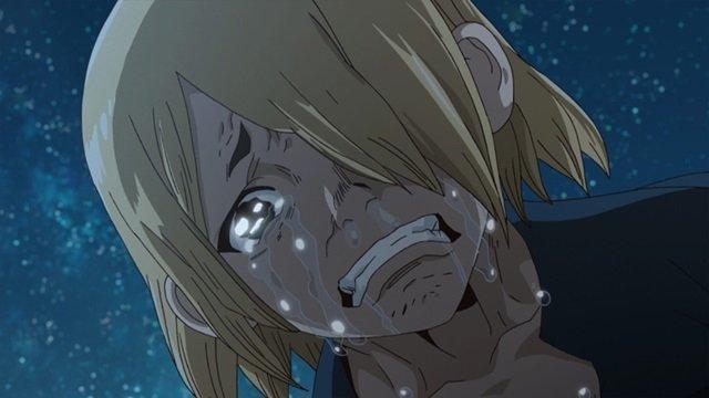 号泣する銀狼