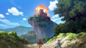 晴れた日に廃城に爆裂魔法を放つめぐみん
