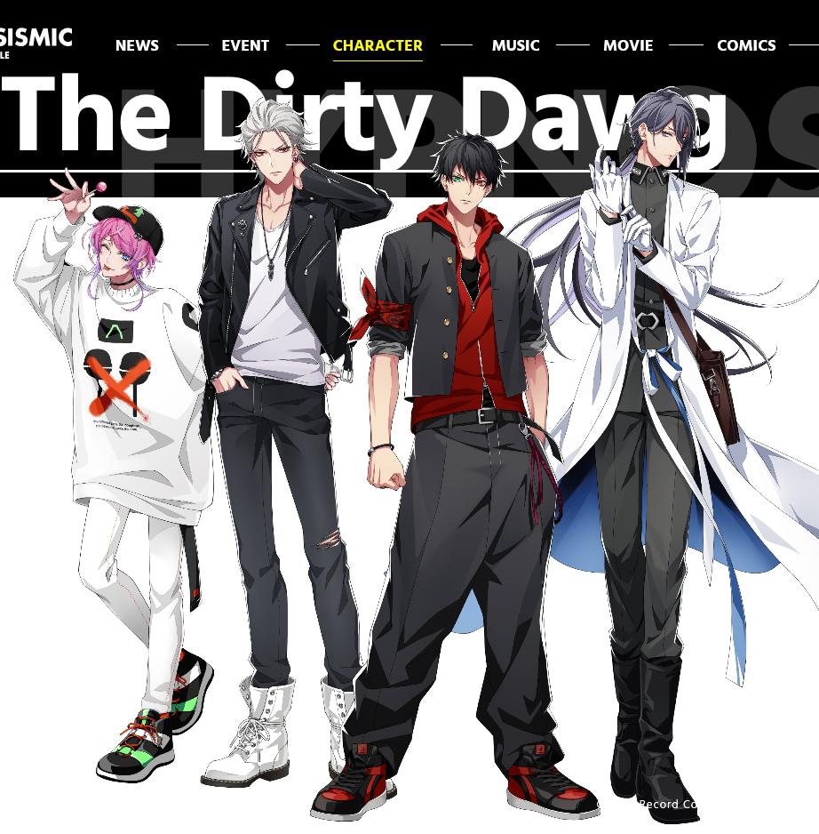 【ヒプマイ】物語の始まり「TDD」とは?物語の原点となるチームをご紹介!