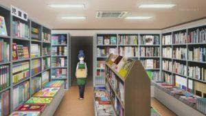 しまりんが働く書店