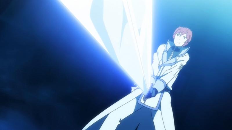 剣を構える『剣聖の加護』
