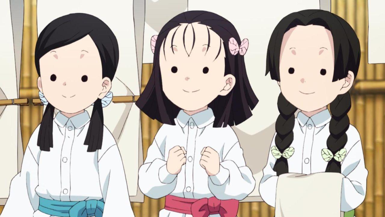 蝶屋敷の三人娘